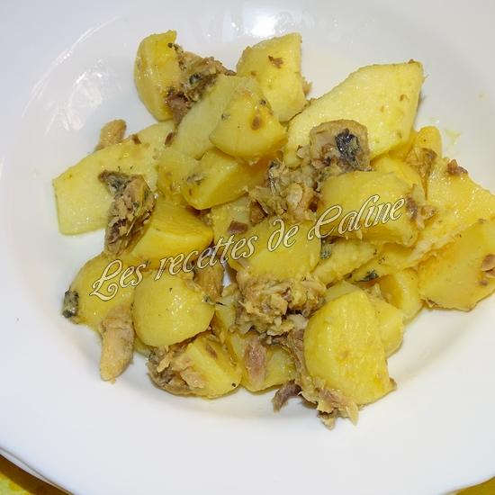 Salade aux 2 pommes et sardines0117
