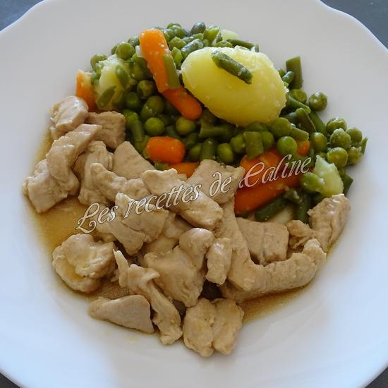 Escalopes de poulet nappées10