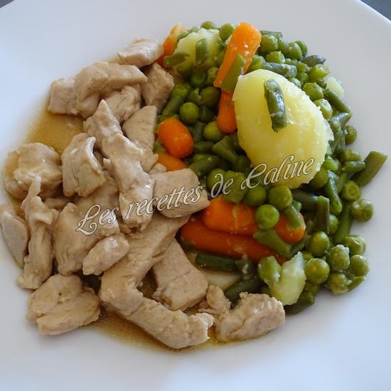 Escalopes de poulet nappées11
