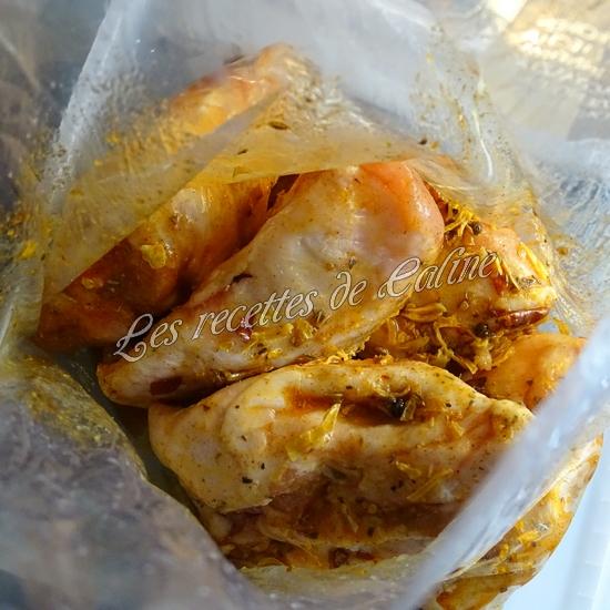Poulet grillé avec sauce Chimichurri21