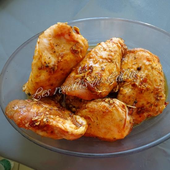 Poulet grillé avec sauce Chimichurri22