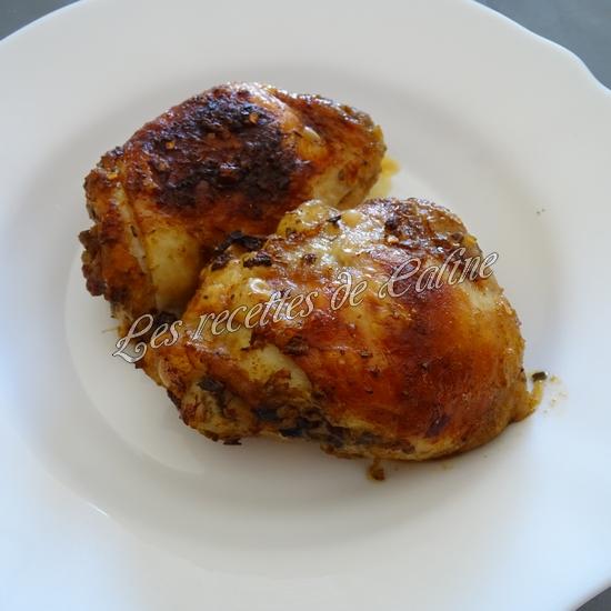 Poulet grillé avec sauce Chimichurri23