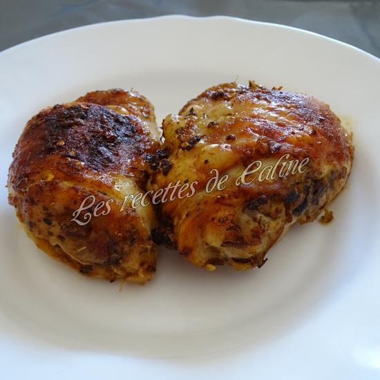 Poulet grillé avec sauce Chimichurri25