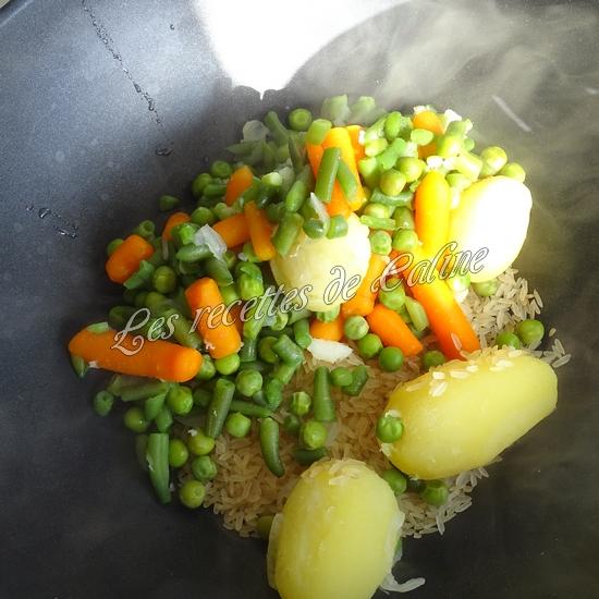 Sauté de dinde et son riz aux légumes sauce au boursin07