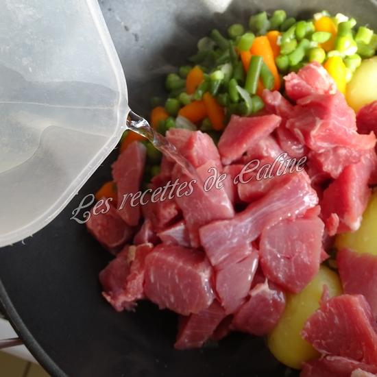 Sauté de dinde et son riz aux légumes sauce au boursin10