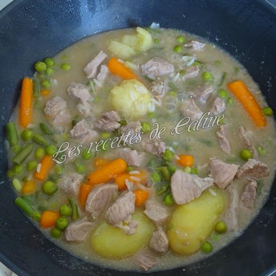 Sauté de dinde et son riz aux légumes sauce au boursin12
