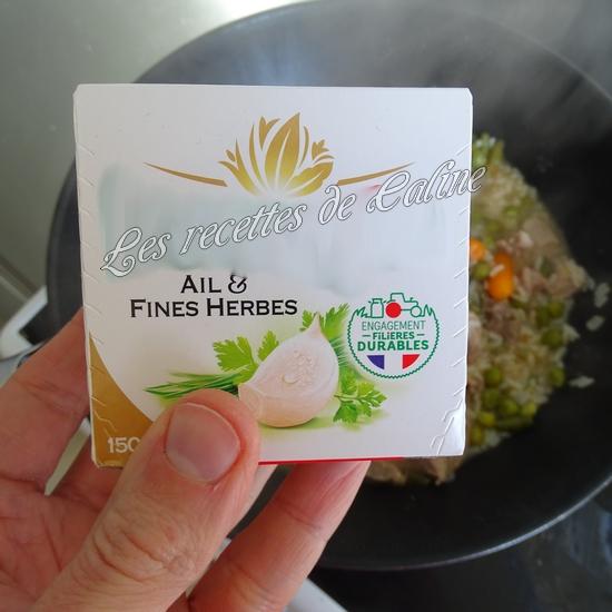Sauté de dinde et son riz aux légumes sauce au boursin13