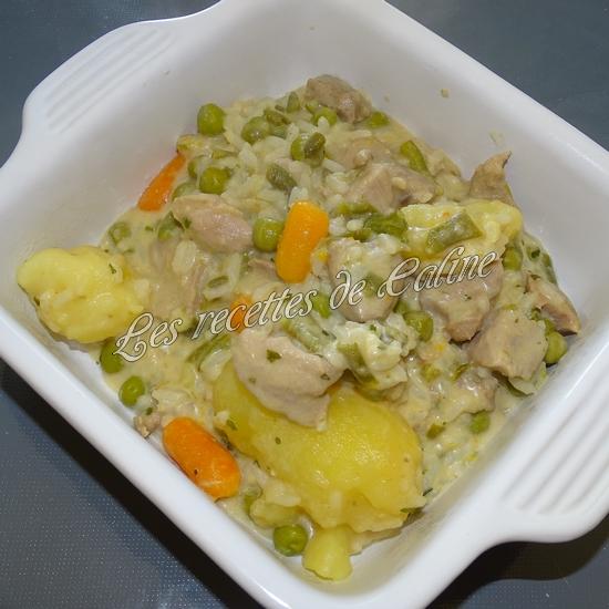 Sauté de dinde et son riz aux légumes sauce au boursin15