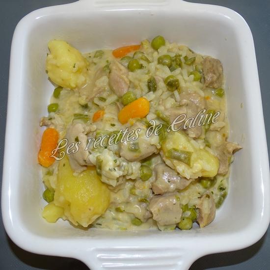 Sauté de dinde et son riz aux légumes sauce au boursin16