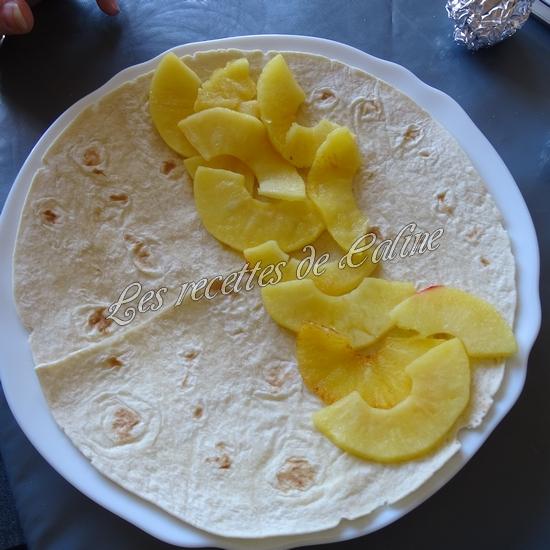 Wraps aux pommes, miel et camembert10