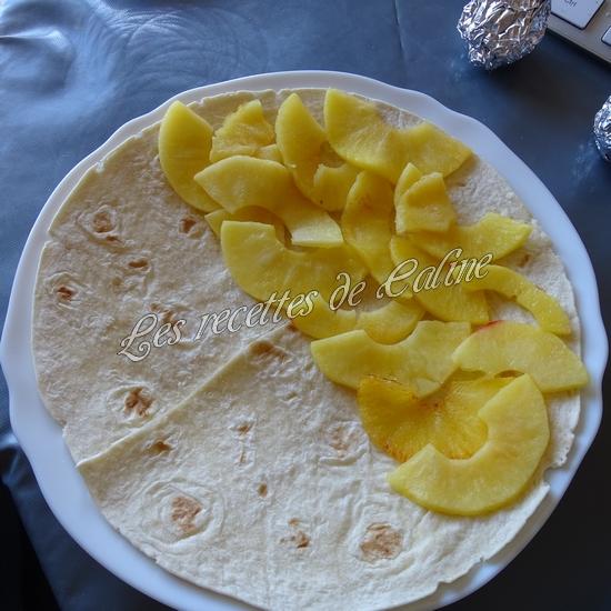 Wraps aux pommes, miel et camembert11