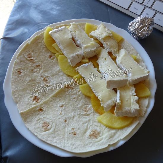 Wraps aux pommes, miel et camembert13