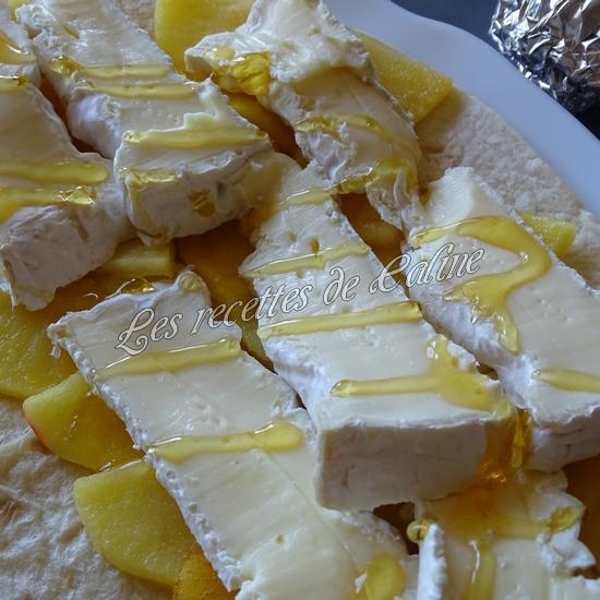 Wraps aux pommes, miel et camembert15