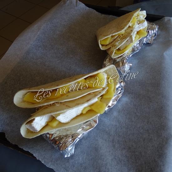 Wraps aux pommes, miel et camembert19