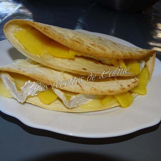 Wraps aux pommes, miel et camembert21