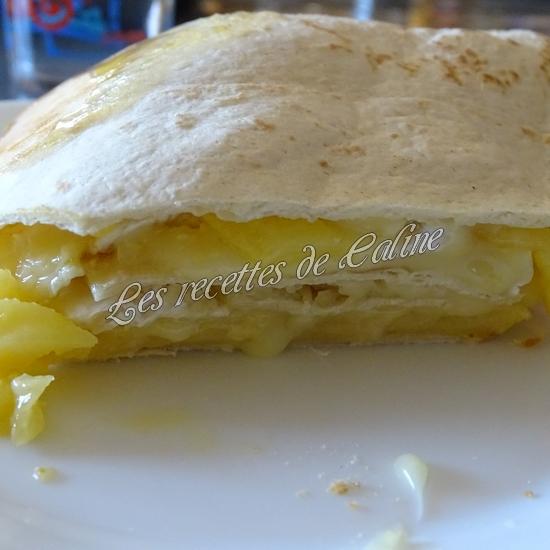 Wraps aux pommes, miel et camembert23