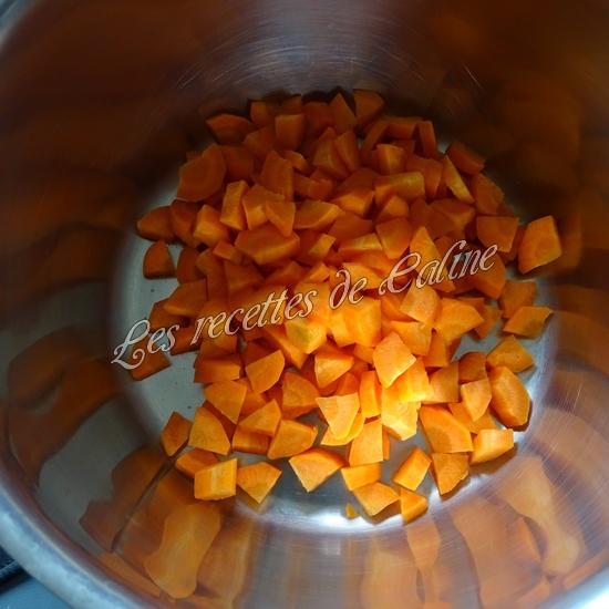 Farfalle aux dés de jambon et petits légumes03