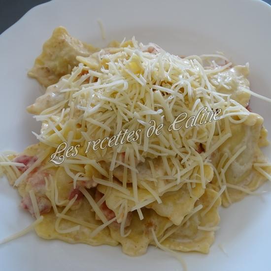 Raviolis crémeux à la pancetta12