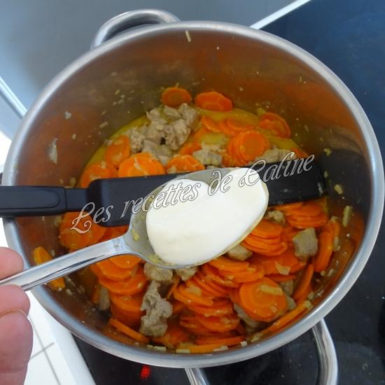 Sauté de dinde aux carottes à la crème de moutarde26