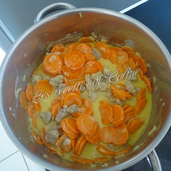 Sauté de dinde aux carottes à la crème de moutarde27