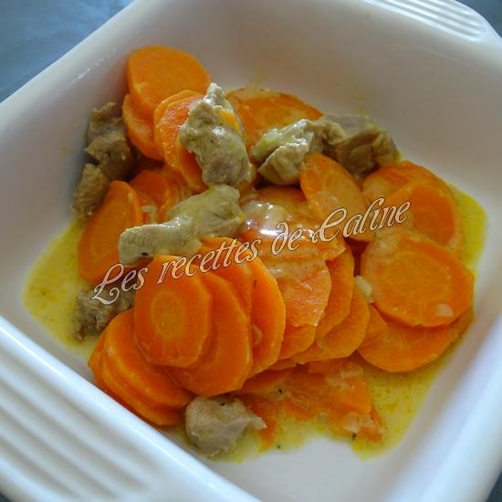 Sauté de dinde aux carottes à la crème de moutarde30