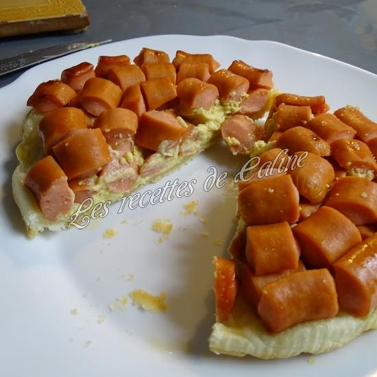 Tatin salée saveur hot dog21