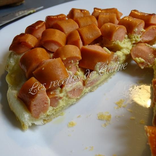 Tatin salée saveur hot dog22