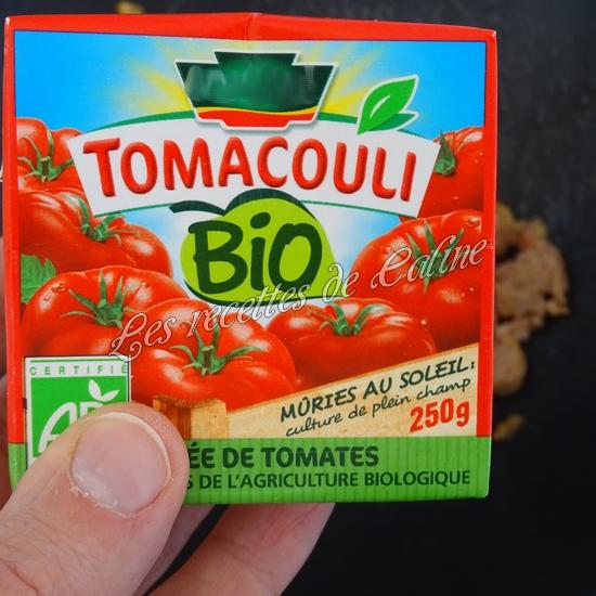 Haricots verts à la tomate et chair à saucisses06