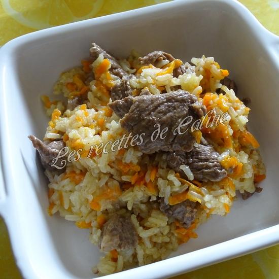 Poêlée de riz sauté au boeuf26
