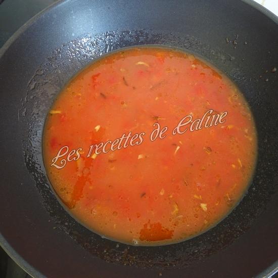 Poisson à la tomate13
