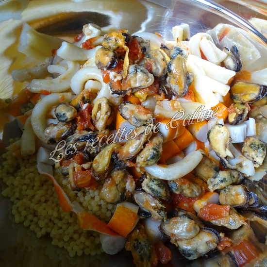 Salade de perles aux fruits de mer20