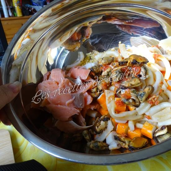 Salade de perles aux fruits de mer24