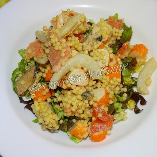 Salade de perles aux fruits de mer28