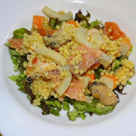 Salade de perles aux fruits de mer30