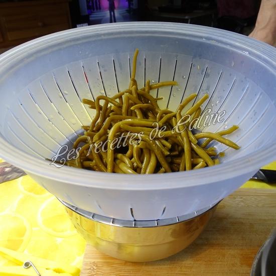Salade de pommes de terre au thon, haricots et petits pois08