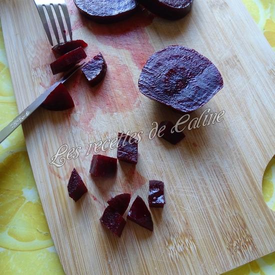 Salade de semoule, betterave et emmental02