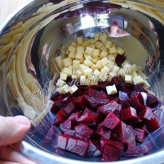 Salade de semoule, betterave et emmental06