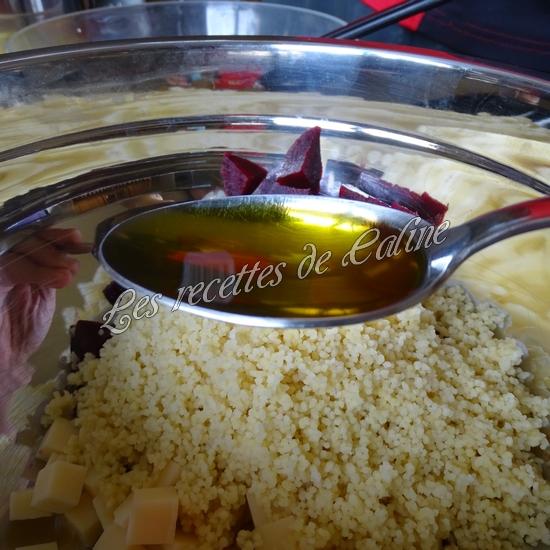 Salade de semoule, betterave et emmental10