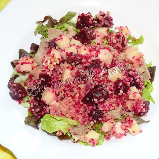 Salade de semoule, betterave et emmental14
