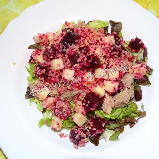 Salade de semoule, betterave et emmental15