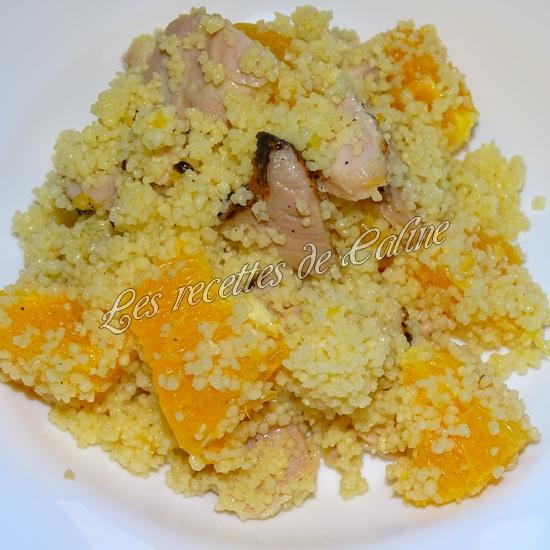 Salade de semoule, poulet et oranges13