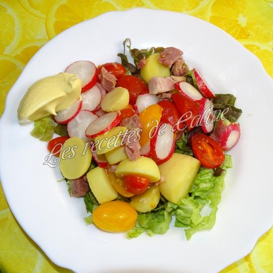 Salade tiède de jambonneau aux pommes de terre13