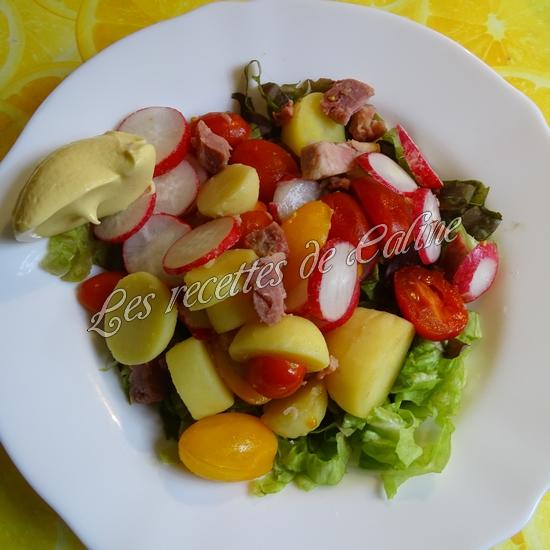 Salade tiède de jambonneau aux pommes de terre14