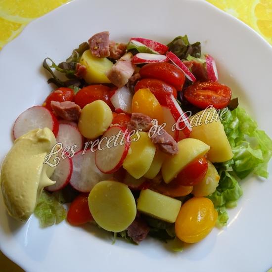Salade tiède de jambonneau aux pommes de terre15
