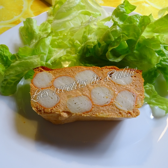 Terrine de surimi à la tomate24