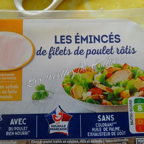 Panini à l'émincé de poulet et sa sauce11