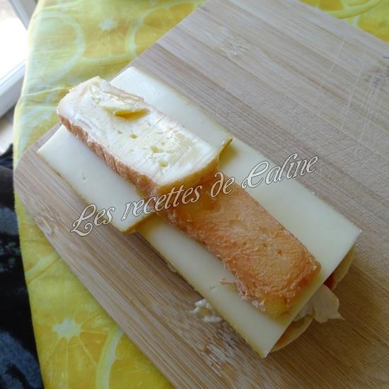 Panini au poulet et fromages17