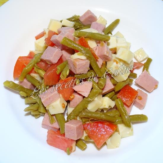 Salade de haricots verts et cervelas11