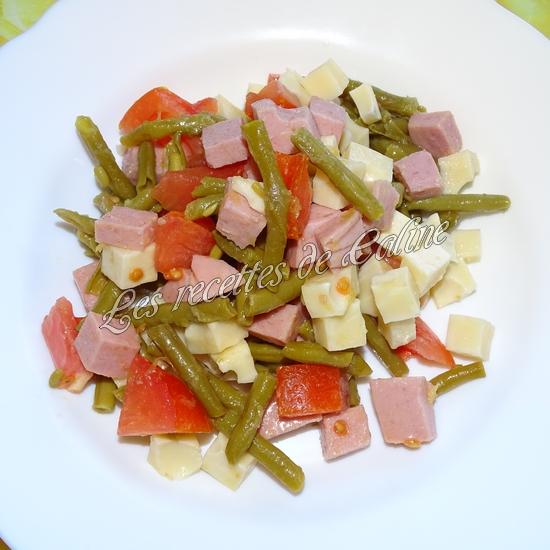 Salade de haricots verts et cervelas12