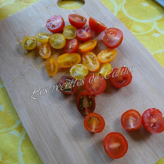 Salade de haricots verts et tomates cerises04